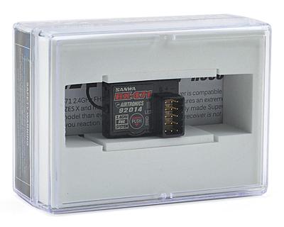 Sanwa RX-471 (2.4 GHz, FHSS-4, FHSS-3/SSR, 4-Channel) Receiver
