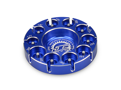 JConcepts Pinion Puck - Modified Range (17-26T in 48 Pitch) (Blue)