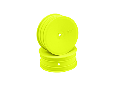 JConcepts Mono - 12mm Hex Front Wheel - Yellow (4pcs)