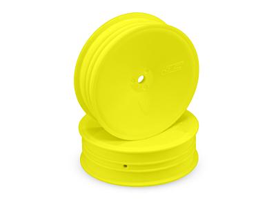 JConcepts Mono - 12mm Hex Slim Front Wheel - Yellow (4pcs)