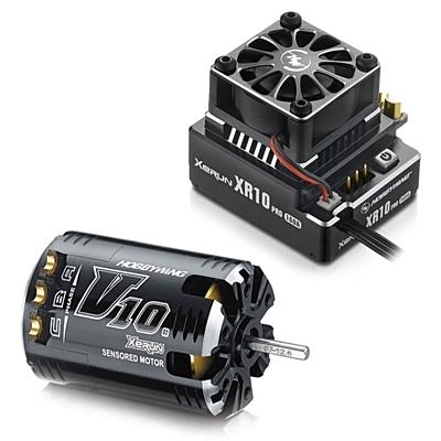 Hobbywing XeRun XR10 PRO ESC & XeRun V10 G2 21 5T Motor Combo