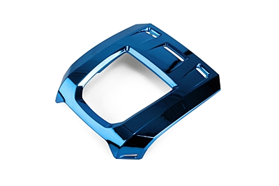 LRP Upper Case Pulsar Touch, blue metalised