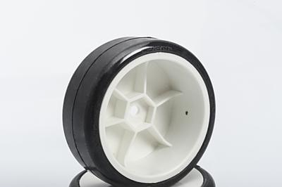 LRP VTEC CPX-V22 Pre-Glued TC-Carpet Wheels (4pcs)