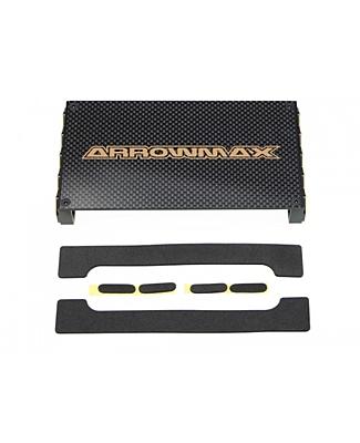 Arrowmax Set-Up Frame (S) for Touring Cars Black Golden