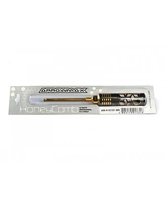 Arrowmax Allen Wrench 5.0 x 100mm Black Golden