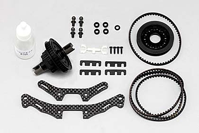 BD8SV 40T Pulley Conversion Kit (for Asphalt racing)