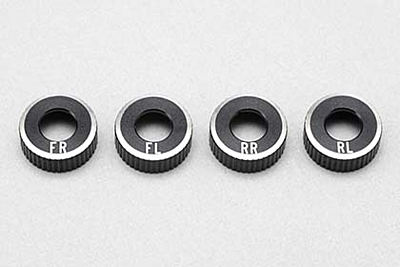 BD8/BD7'16 O-ring Cap for SLF Short Shock II (4pcs/set)