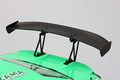 Yokomo Aluminum Wing Stay (Black) for Drift Car