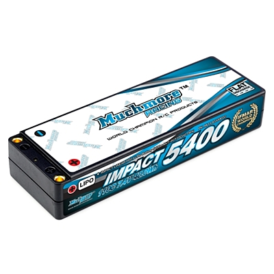 Muchmore IMPACT Linear FD2 Li-Po Battery 5400mAh/7.4V 110C Flat Hard Case