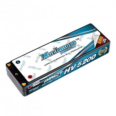 Muchmore IMPACT LCG HV FD2 Li-Po Battery 5200mAh/7.6V 110C Flat Hard Case