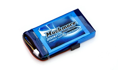 Muchmore LiPo Tx Battery 2500mAh 11.1V (Futaba, Sanwa)