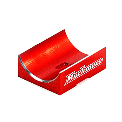 Muchmore Aluminum Capacitor Mount Red for FLETA EURO V2
