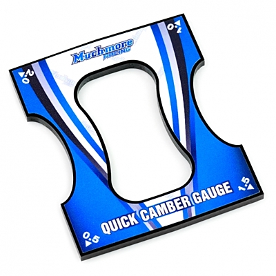 Muchmore Quick Camber Gauge for 1/10 Touring & F1 cars