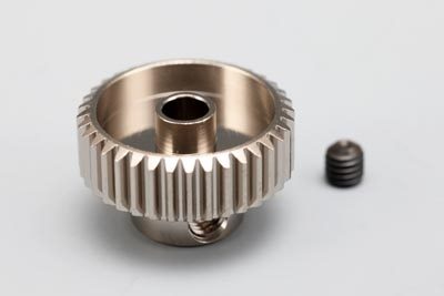 Yokomo 39T Hard Precision Pinion Gear (64Pitch·Light Weight)