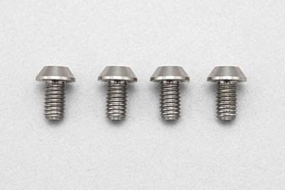 Racing Performer Precision Machined Titanium BH Socket Screw M3×5mm (4pcs)