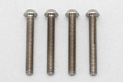 Racing Performer Precision Machined Titanium BH Socket Screw M3×22mm (4pcs)