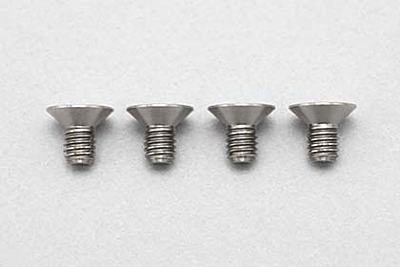 Racing Performer Precision Machined Titanium FH Socket Screw M3×5mm (4pcs)