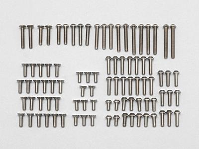 YZ-2DTM Precision Machined Titanium Screw Set (82pcs)