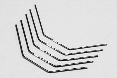 YZ-4SF Stabilizer Wire Hard Set (5pcs/1.6mm-2.0mm)