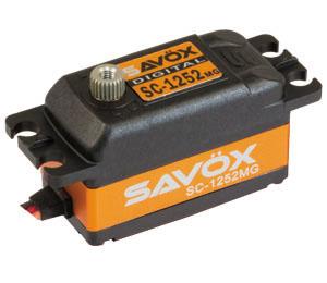 Savöx SC-1252MG Low Profile (0.07s/7.0kg/6.0V) Coreless Servo
