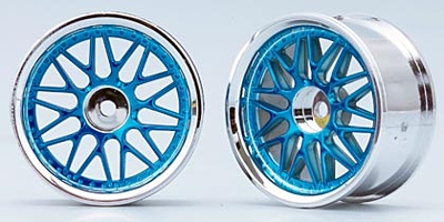 Yokomo 10-Mesh Wheel (Blue)