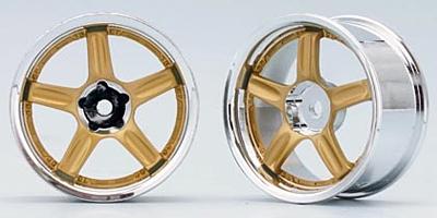 Yokomo RAYS VOLK RACING GT-C (Gold)