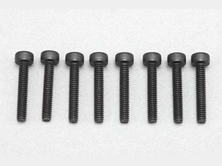 Yokomo Cap Screw M2x12mm (8pcs)