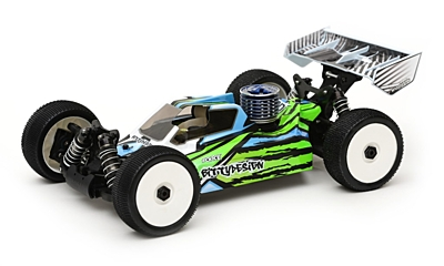 Bittydesign Force Clear Body for Xray XB8 (1:8 Offroad)