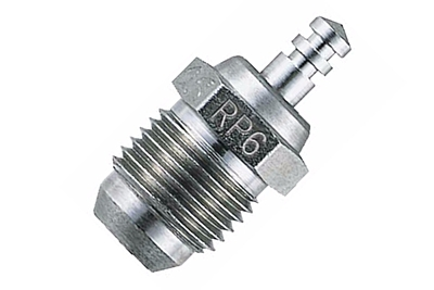 O.S. RP6 Turbo Silver Medium Plug (Onroad)