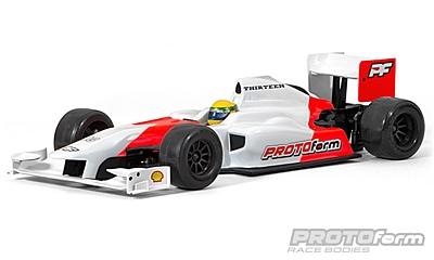 PROTOform F1-Thirteen Clear Body (1:10 Formula 1)