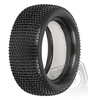 """Pro-Line Hole Shot 2.0 2.2"""" 4WD M3 (Soft) Off-Road Buggy Front Tires (Impact Firm Inserts)"""