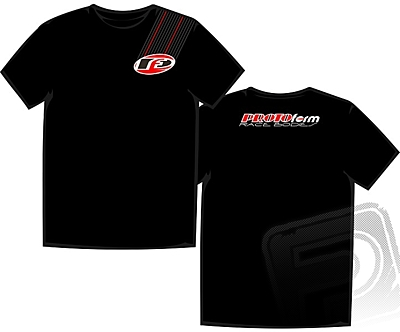 "PROTOform ""Stripe"" T-Shirt Black (Large)"