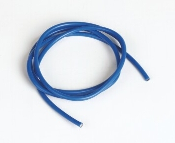 Graupner Silicon Wire Ø3.3mm, 1m, Blue, 12AWG
