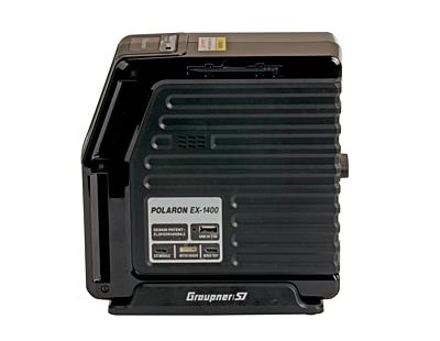 Graupner Polaron EX1400 DC (12V) Charger (2x30A) Blue