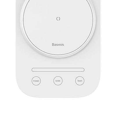 Baseus Lett Intelligent LED Lamp with Wireless Charging (White)