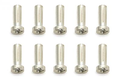 Reedy Low-Profile Bullet Connectors 4x14mm (10pcs)