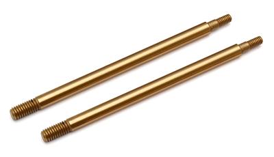 Associated RC8B3 TiN Shock Shafts 3.5x39.5mm