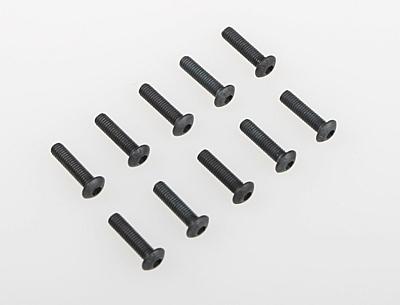 Associated Screws M3x12mm BHCS