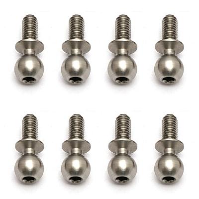 Associated Heavy-duty Ballstuds, 6mm