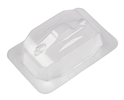 Associated RC10B74 Front Scoop, clear