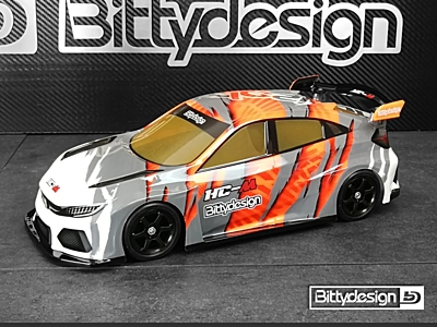 Bittydesign HC-M 1:10 Clear Body for M-chassis (210-225mm FWD)