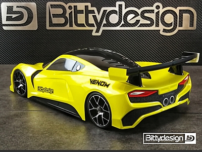 Bittydesign VENOM Clear Body (190mm GT)