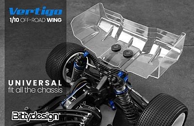 Bittydesign Vertigo 1/10 Off-Road 1.5mm Wing Set (2pcs)