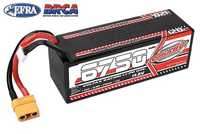 Corally Voltax 6750mAh 14.8V 4S 120C LiPo (XT90, 606g)