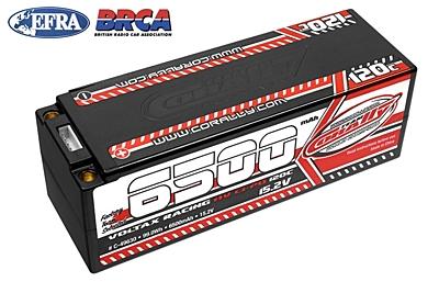 Corally Voltax 6500mAh 15.2V 4S 120C HV LiPo (5mm, 530g)