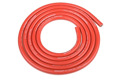 Ultra V+ Silicone Wire - Super Flexible - Red - 12AWG - 1731 / 0.05 Strands - ODo 4.5mm