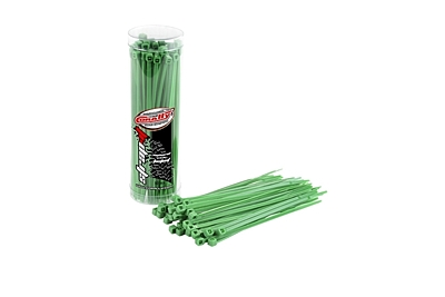 Corally Strap-it Cable Tie Raps 2.5x100mm (Green·50pcs)