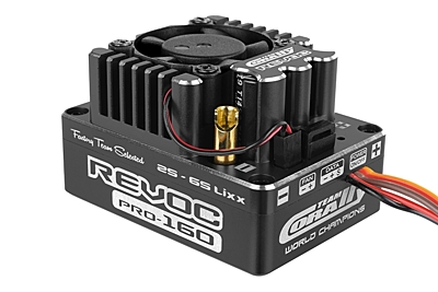 Corally Revoc PRO 160 Racing Factory 2-6S ESC (Black)