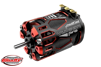 Corally Vulcan Pro Modified Sensored Competition Brushless Motor 7.5T
