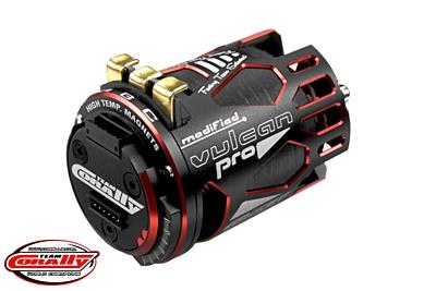 VULCAN PRO Modified - 1/10 Sensored Competition Brushless Motor - 9.5 Turns - 3700 KV